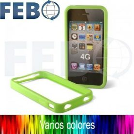 Protector Lateral O Bumper Premium Para Iphone 4 Y 4s