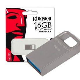 Pendrive Kingston 16gb Usb 3.1 Pc Notebook Audio Y+ Febo