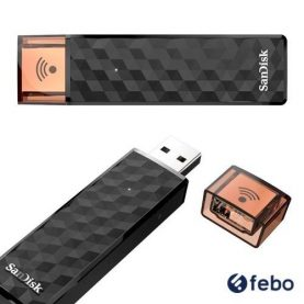 Pendrive Wireless Sandisk 32gb Usb 2.0 Pc Notebook Audio Y+