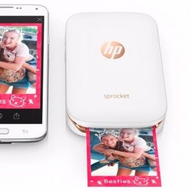 Impresora Portátil Hp Sprocket Bluetooth Fotos Celular Febo