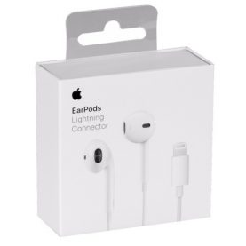 Auriculares Iphone 7 8 X Lightning Original Manos Libres