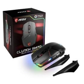 Mouse Gamer Gaming Pc Msi Gm70 Rgb Led Inalambrico Usb Febo
