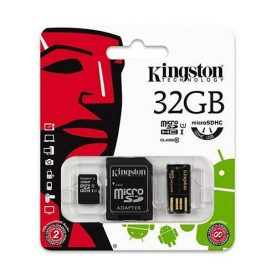 Memoria Micro Sd 32gb Kingston + Lector Memorias Usb Febo