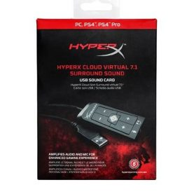 Tarjeta Sonido Usb Gamer Kingston Hyperx Cloud Virtual Febo