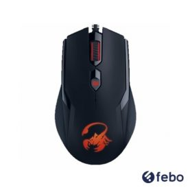 Mouse Gamer Usb Genius Ammox X1-400 Pc Notebook Febo