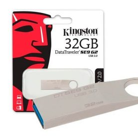 Pendrive Kingston 32gb Usb 3.0 Pc Notebook Audio Y+ Febo