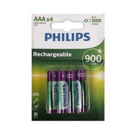 Pilas Recargables Philips Aaa Pack X 4 900 Mah Super Oferta!