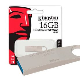 Pendrive Kingston 16gb Usb 3.0 Pc Notebook Audio Y+ Febo