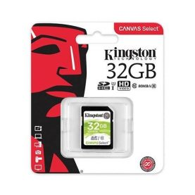 Memoria Sd 32gb C10 Kingston Camara Filmadora Tv Box Gopro