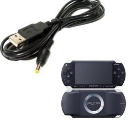 Cable Usb Cargador Para Sony Psp 1000 2000 3000 Slim O Fat
