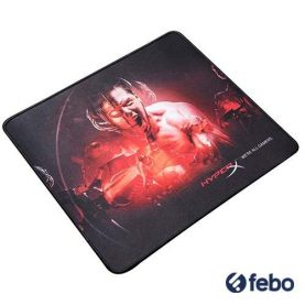 Mousepad Gamer Kingston Hyperx Fury S  Medio 360x300mm Febo