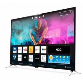 Tv Led Aoc 50  4k Smart Digital Hdmi Usb Gtia 2 Años Febo