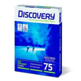 Resma Hojas Papel Discovery A3 297x420mm 75g 500 Hojas Febo