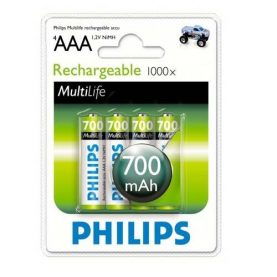 Pilas Recargables Philips Aaa Pack X 4 700 Mah Super Oferta!