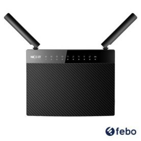 Router Wifi Wireless Nexxt Acrux 1200mbps Gtia 5 Años Febo