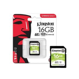 Memoria Sd 16gb C10 Kingston Camara O Filmadora Tv Box Febo