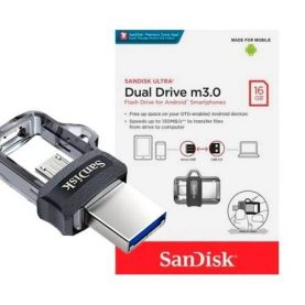 Pendrive Microduo Sandisk 16gb Usb 3.0 iPhone Pc Notebook Y+