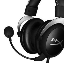 Auriculares Gamer Hyperx Cloud Silver Microfono Pc Ps4 Xbox