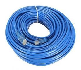 Cable De Red 15 Mt Ethernet Rj45 Utp Cat5 15 Metros Calidad