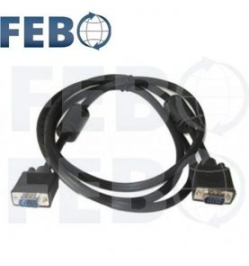 Cable Vga 3m Macho Macho Monitor Pc Notebook Proyector