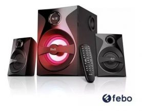 Home Parlantes Subwoofer Bluetooth Fm Usb Sd Tv Klip Xtreme