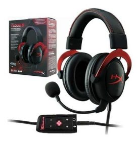 Auriculares Gamer Hyperx Cloud Ii Microfono Ps4 Pc Xbox Wii