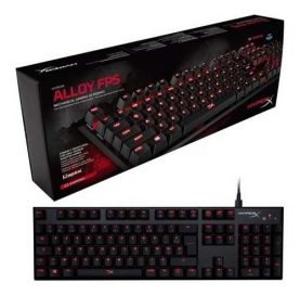 Teclado Mecanico Usb Gamer Kingston Hyperx Alloy Fps Febo