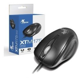 Mouse Optico Usb Xtech Xtm-175 Para Pc Notebook Y Mas