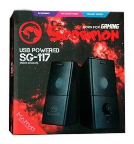 Parlantes Gamer Marvo Scorpion Sg-117 Usb Pc Notebook Febo
