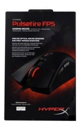 Mouse Gamer Kingston Hyperx Pulsefire Fps Usb Óptico Febo
