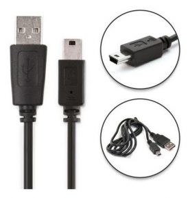 Cable Datos Mini Usb A Usb Para Psp 1000 2000 3000 Slim Fat
