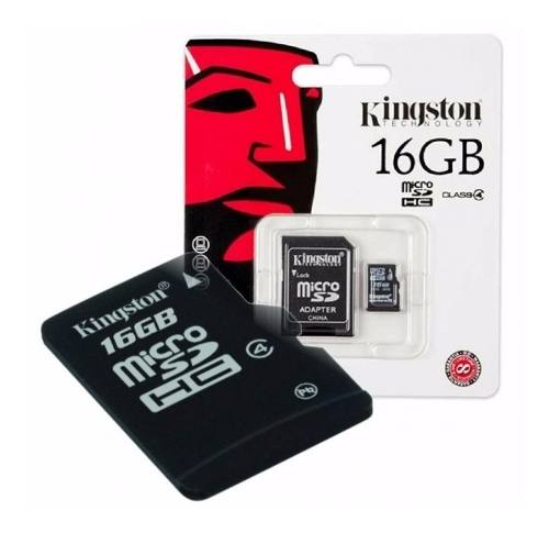 Memoria Micro Sd Kingston 16gb Celular Camara Tablet Febo