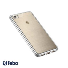 Protector Funda Slim Tpu Borde Color Para Huawei P8 Lite
