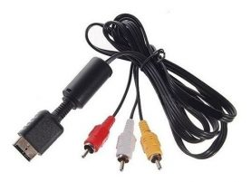 Cable Audio Video Rca Para Playstation 2 Ps2
