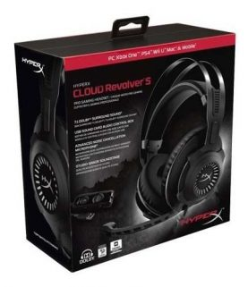 Auriculares Gamer Hyperx Cloud Revolver S Microfono Ps4 Pc