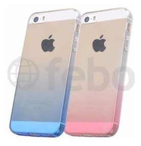 Protector Ultra Fino Tpu Degrade Premium Funda iPhone 5 O Se