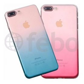 Protector Ultra Fino Tpu Degrade Premium Funda iPhone 7 Plus