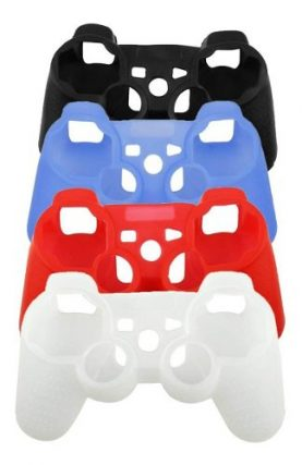 Funda Protector Silicona Mando Joystick Playstation 3 Ps3