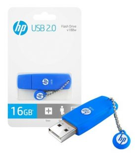 Pendrive Hp 16gb Usb 2.0 Pc Notebook Audio Y+ Febo
