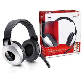 Auriculares Gamer Micrófono Genius Hs-05a Pc Chat Skype Febo