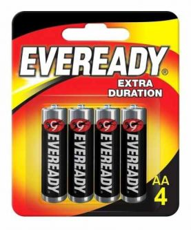 Pilas Eveready Aa X 4 Super Oferta!! Febo