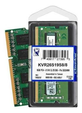 Memoria Ram Notebook Kingston Ddr4 8gb 2666mhz Sodimm Febo
