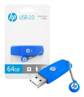 Pendrive Hp 64gb Usb 2.0 Pc Notebook Audio Y+ Febo
