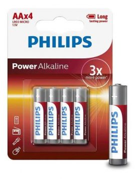 Pilas Philips Alcalinas Aa Pack X 4 Super Oferta!!! Febo