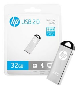 Pendrive Hp 32gb Usb 2.0 Pc Notebook Audio Y+ Febo