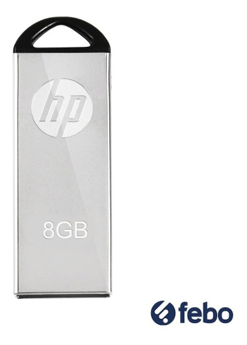 Pendrive Hp 8gb Usb 2.0 Pc Notebook Audio Y+ Febo