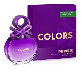 Perfume Mujer Benetton Colors Purple 50ml Febo