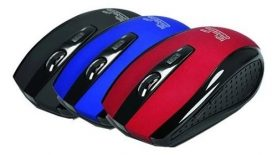 Mouse Óptico Klip Xtreme Klever Inalambrico Pc Notebook Y +