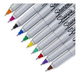 Marcadores Permanentes Sharpie Ultra Fino X1 Colores Febo