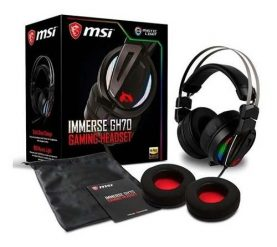 Auriculares Gamer Gaming Rgb Msi Microfono Led Ps4 Pc Febo